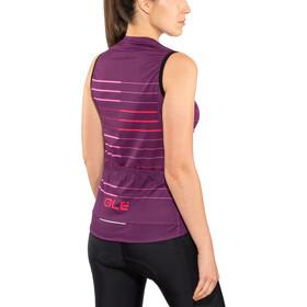 Alé Cycling Solid Ergo Maillot sans manches Femme, purple-gerbera